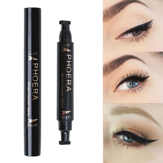 Winged Eye Makeup Waterproof Makeup Eyeliner Stamp Cat Eye Wing Stamp Ink Long Lasting