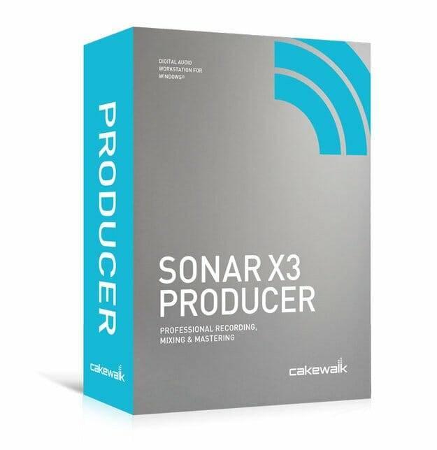 Sonar X3 - X3, Studio and Producer
