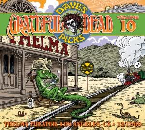 Grateful Dead Dave's Picks 10 cover