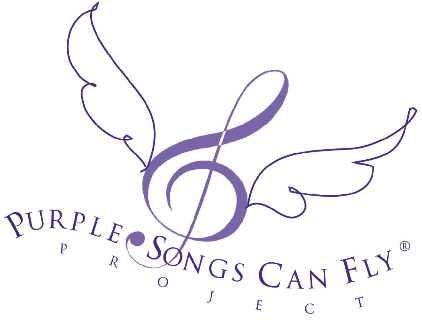Foto LOGO PURPLE SONGS CAN FLY
