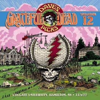 Grateful Dead  Dave's Picks 12 cover