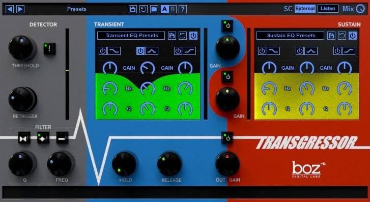Review: Transgressor by Boz Digital Labs