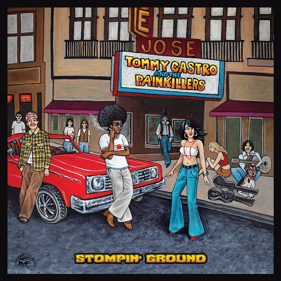 Stompin' Ground by Tommy Castro and the Painkillers