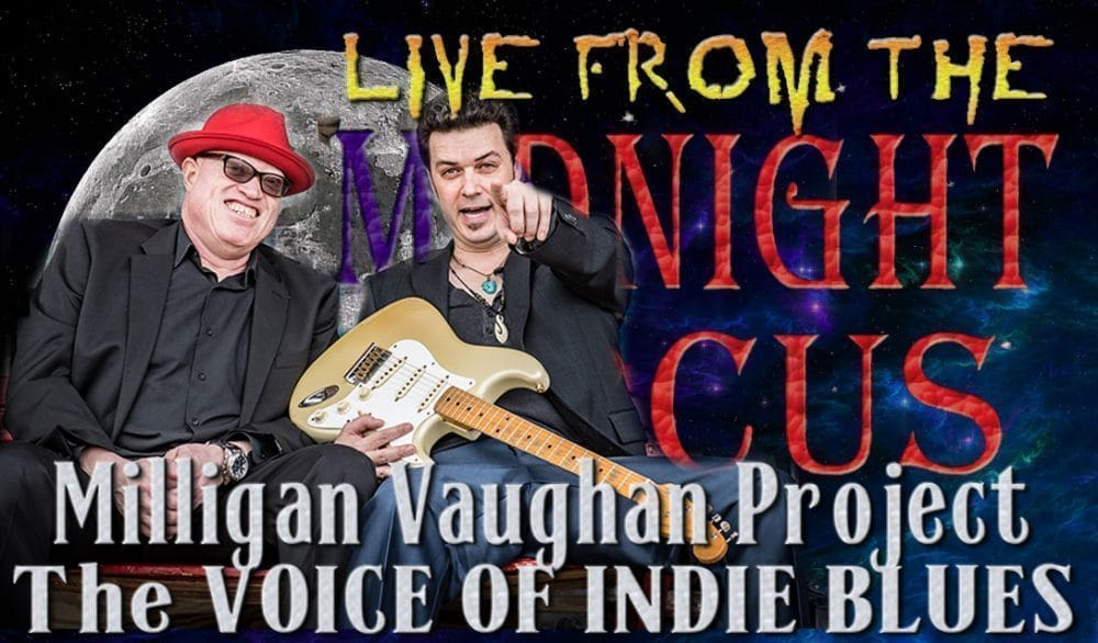 LIVE from the Midnight Circus Featuring MVP-Tyrone Vaughan