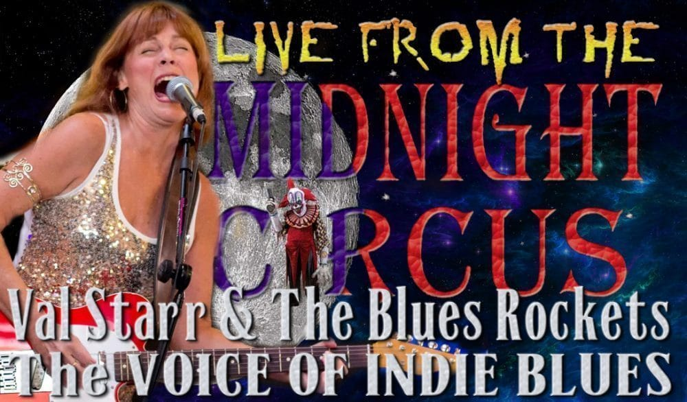 LIVE from the Midnight Circus Featuring Val Starr and the Rocket