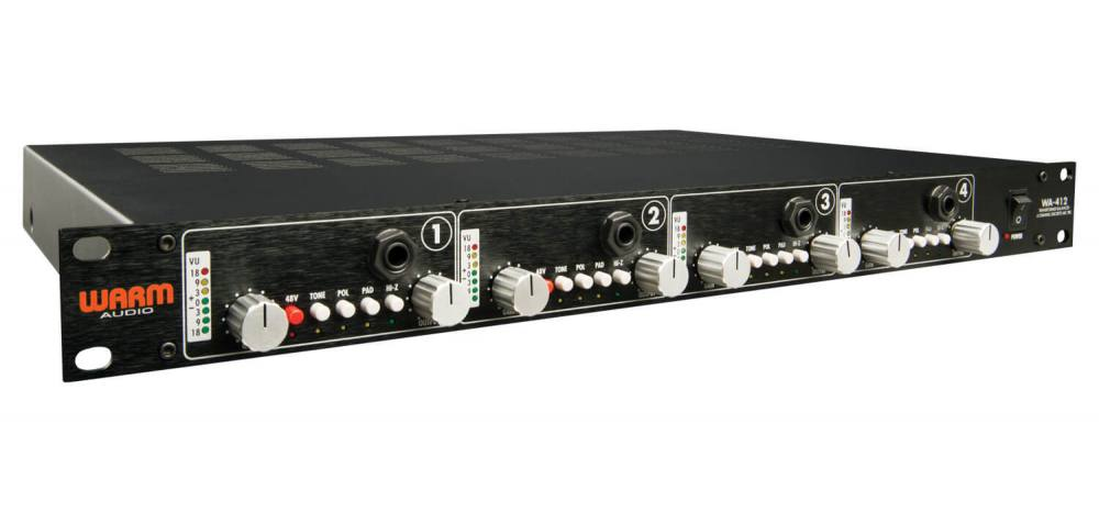 Review of the Warm Audio WA-412 API preamp