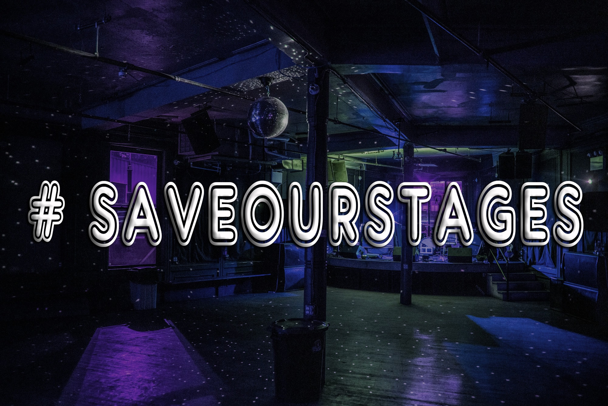 Small Music Venues are Sending out an SOS with the Save Our Stages Act!