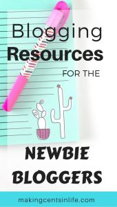 A blogging resource guide for the newbie blogger! Are you thinking of starting a blog? This guide makes for the perfect starting point for the aspiring blogger.