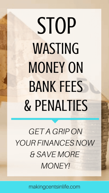 Get a grip on your finances and stop wasting money on unnecessary bank fees and penalties! Take back control of your debts and save money with these simple debt management tips!