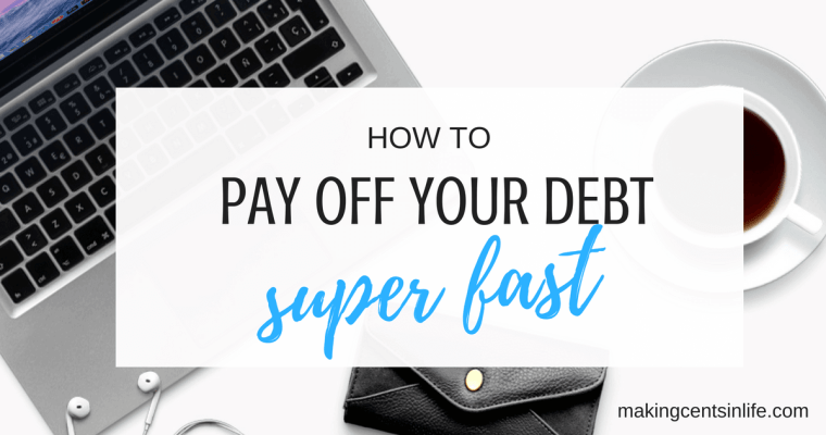 Paying off debt fast – Using the Pay It Forward system