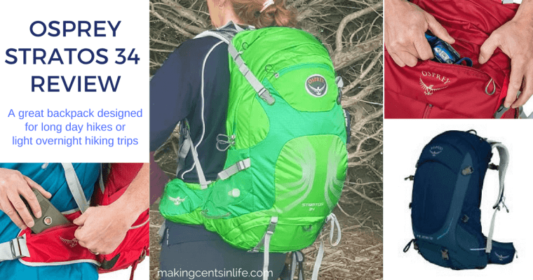 Osprey Stratos 34 Review – My favourite hiking pack for long day trips