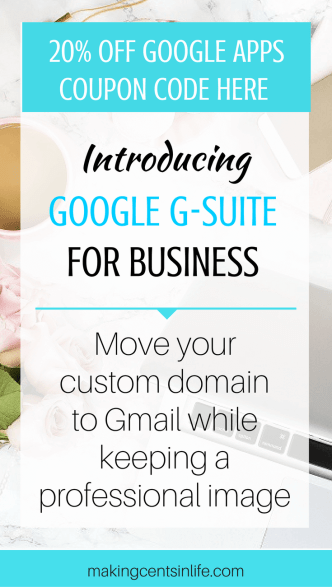 Move your blog or business custom domain to your Gmail account but still keep your professional image with Google G-Suite. As a bonus - grab a 20% coupon code of your first year purchase! Get it now!