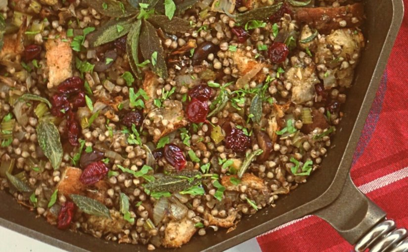Buckwheat Pilaf (dressing or stuffing)