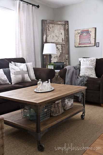 Inspiring Living Room Ideas Brown Sofa With