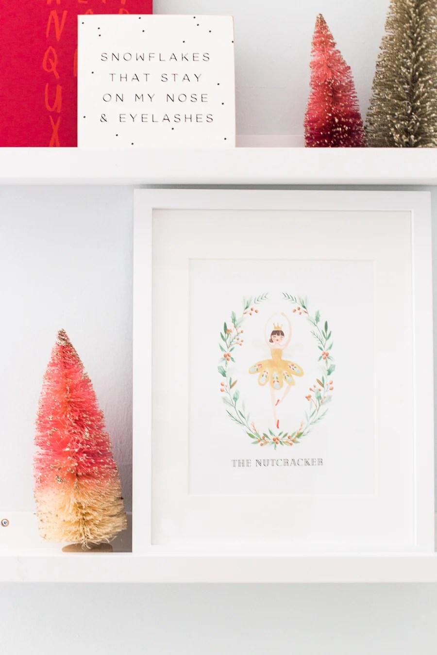 Nutcracker Inspired Printable Christmas Gift Tags And More