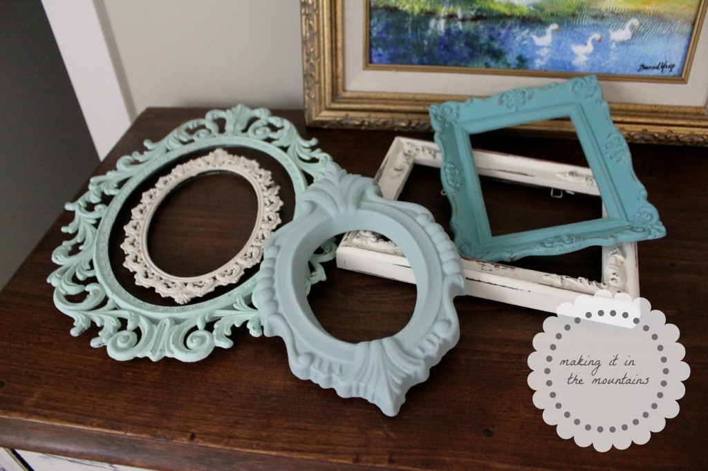chalk paint frames