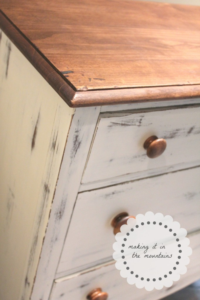 Chalk Paint dresser makeover