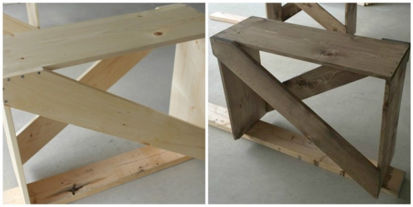 DIY End Table @ making it in the mountains