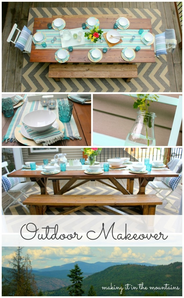 Outdoor Makeover Reveal :: making it in the mountains