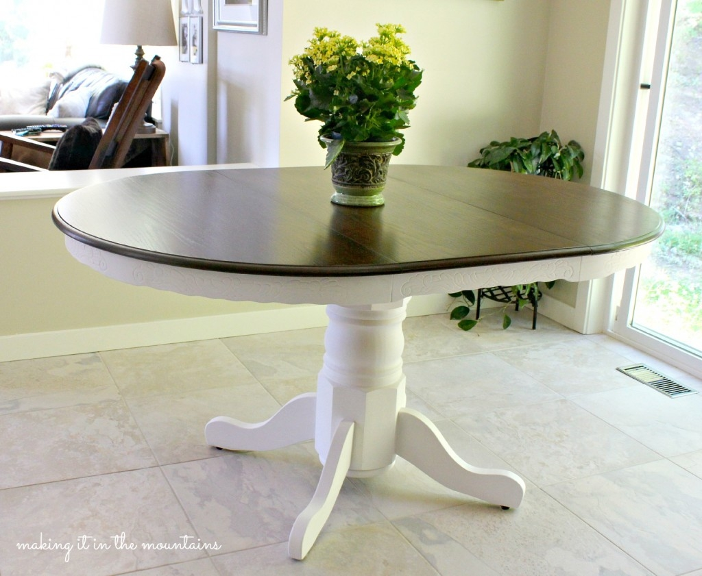 kitchen table makeover how to makeover your kitchen table and a lesson i learned 3226
