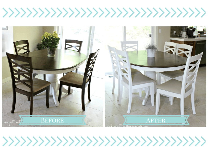 Dining Chair Makeover :: making it in the mountains