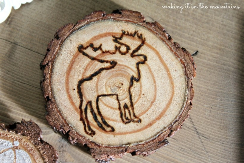 Rustic Handmade Coasters :: making it in the mountains