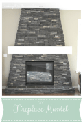 DIY Fireplace Mantle :: makingDIY Fireplace Mantel :: making it in the mountains it in the mountains