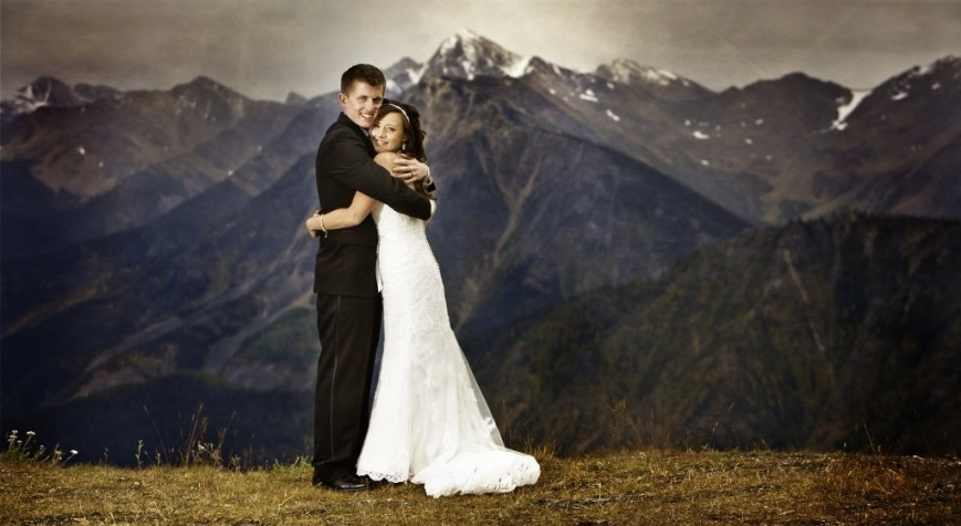 Mountain Top Wedding :: making it in the mountains