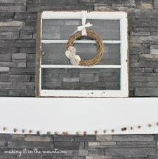 Custom Antique Window | making it in the mountains