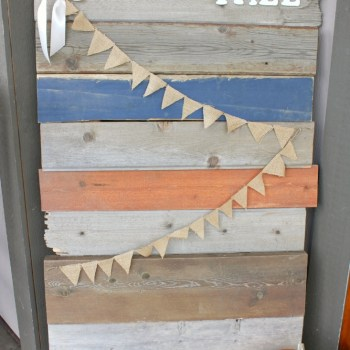 Barnwood FALL Sign :: making it in the mountains