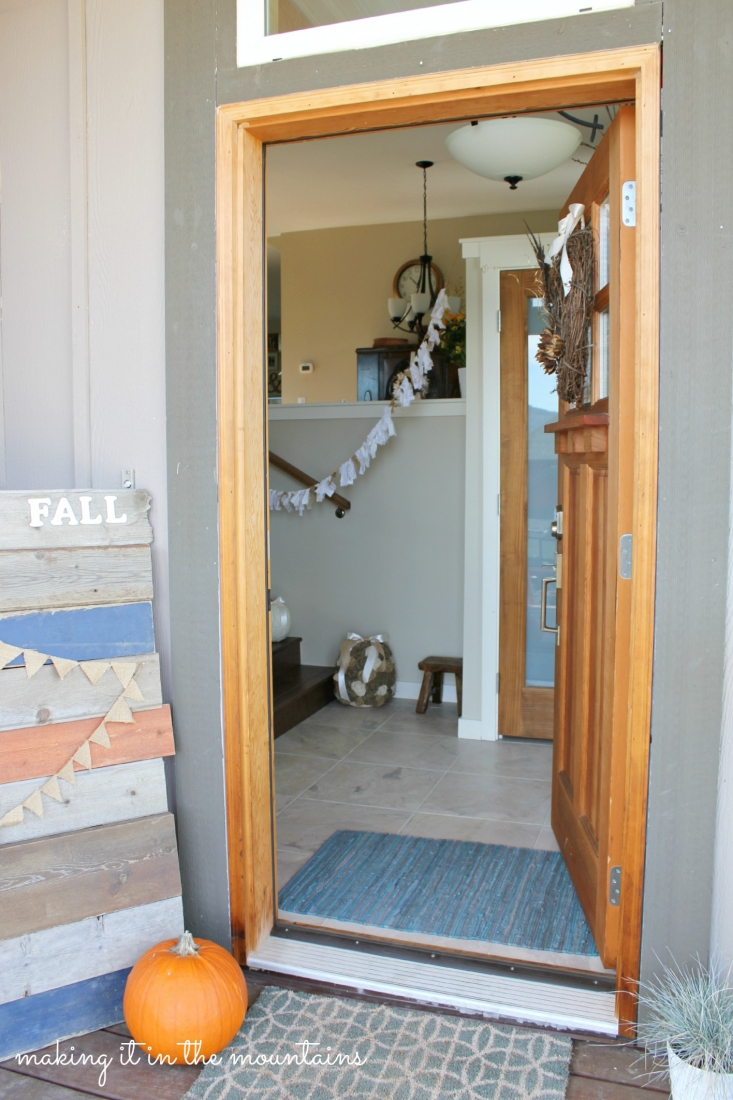 Fall Porch and Entryway :: making it in the mountains