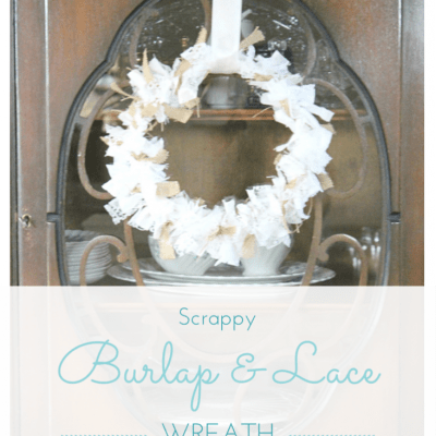 {All Things Fall} :: Scrappy Burlap & Lace Wreath