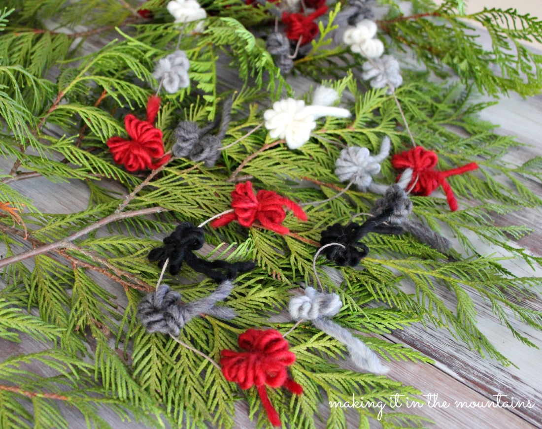 How to diy stacked christmas tree garland hallmark channel