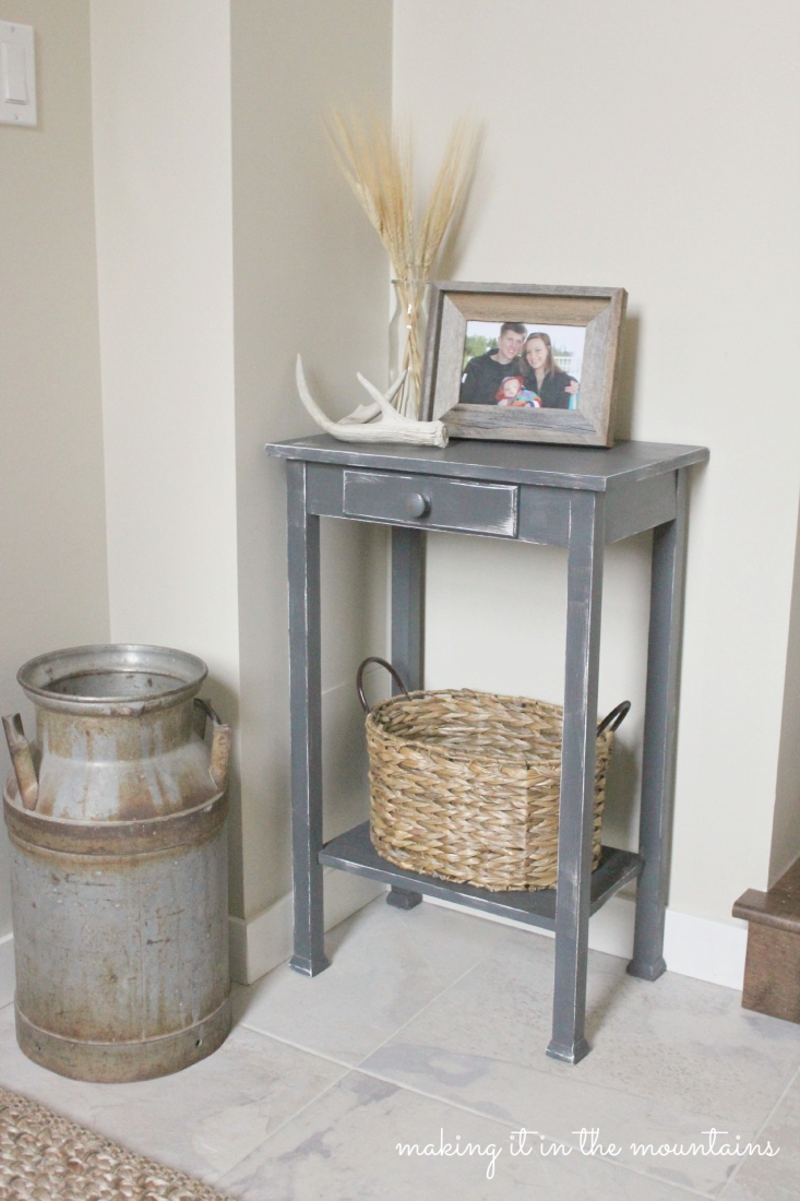 Chalk Paint Table Makeover :: making it in the mountains