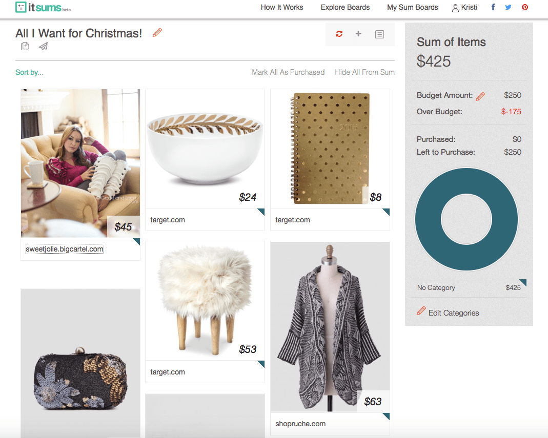 Shopping with itsums.com
