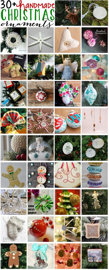 Handmade Christmas Ornaments Blog Hop