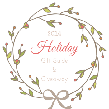 Holiday Gift Guide and Giveaway