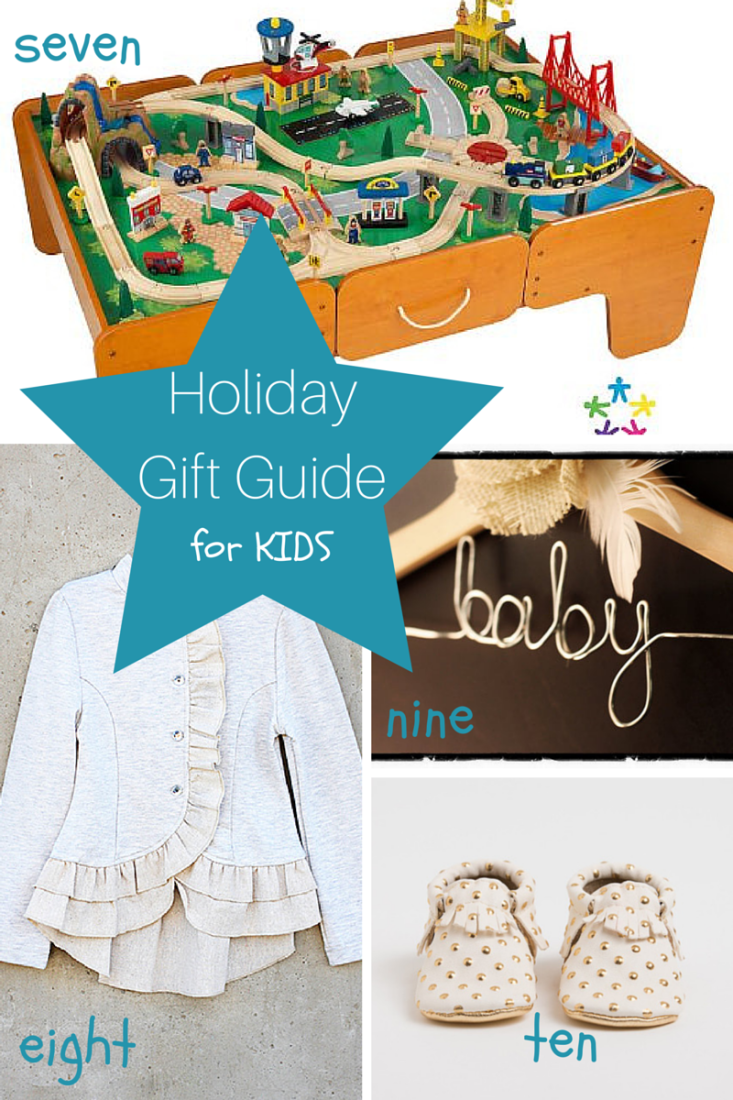 Holiday Gift Guide for Kids - making it in the mountains