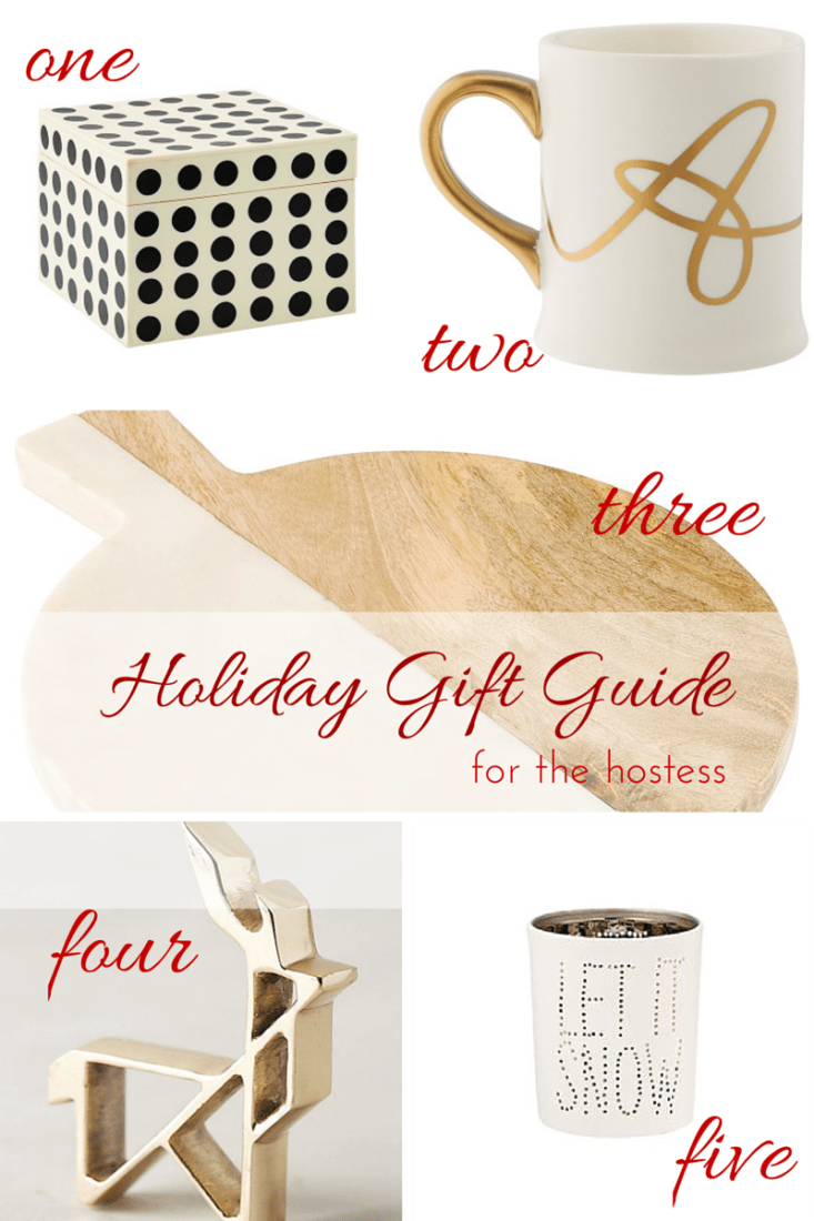 Holiday Gift Guide for the Hostess - making it in the mountains