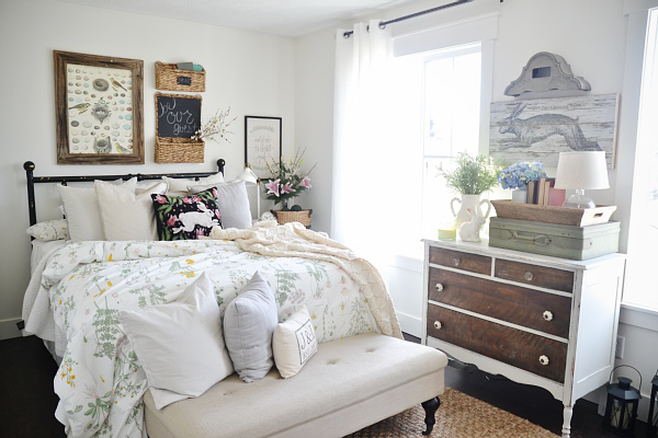 Spring Guest Room