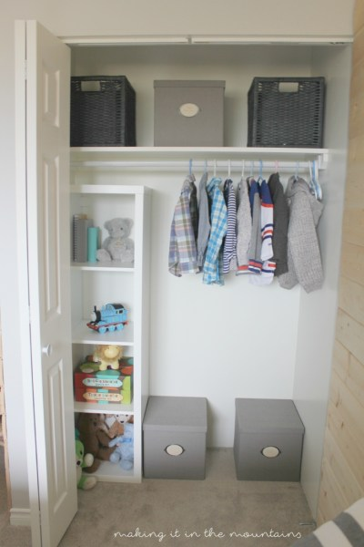 Kid's Closet Organization: How to organize your child's closet in 5 easy steps   making it in the mountains