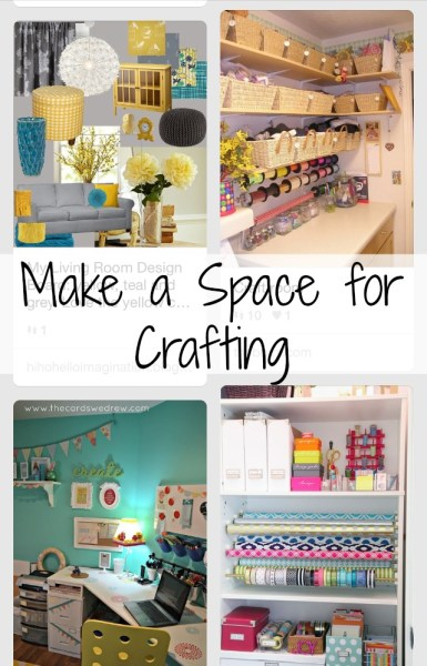 Craft Space Makeover