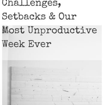 One Room Challenge: Challenges, Set Backs & Our Most Unproductive Week Yet | making it in the mountains