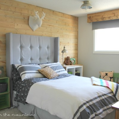 One Room Challenge: Week Six {The BIG Reveal} – Rustic Boy's Bedroom