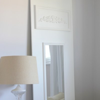 DIY Trumeau Mirror {A Guest Post for AKA Design}