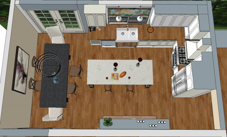 Dream Kitchen Design Plan | Making it in the Mountains