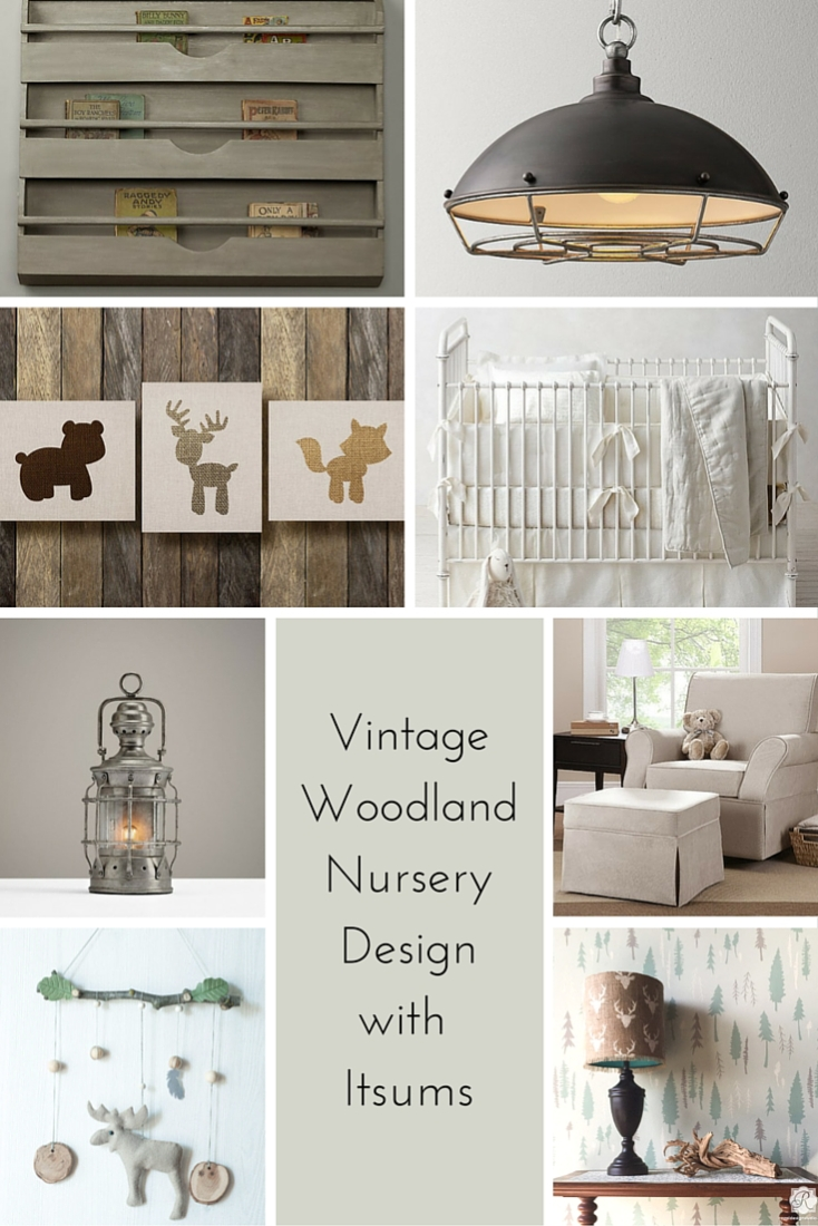 Vintage Boy Nursery Design A Giveaway Making It In The