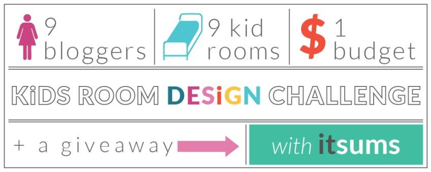 Kid's Bedroom Design Challenge with Itsums