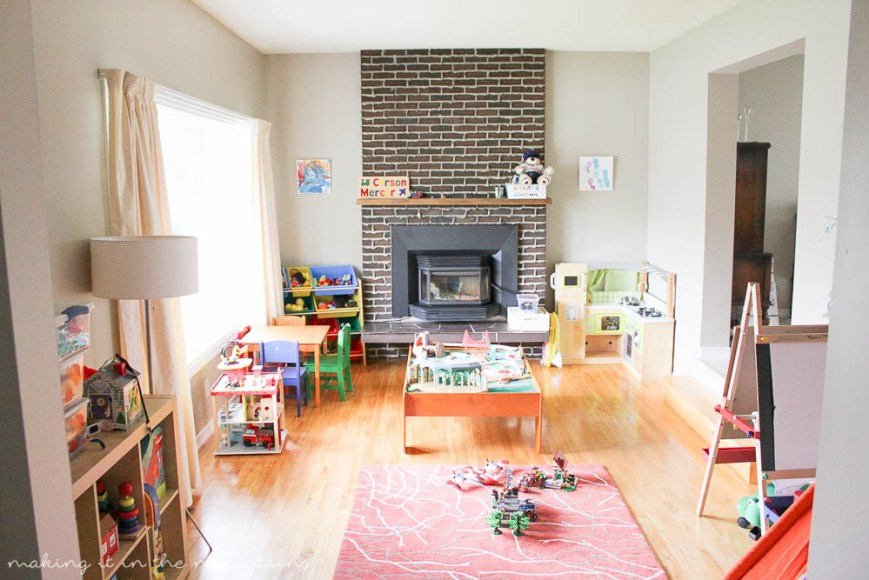 Decluttering the Playroom