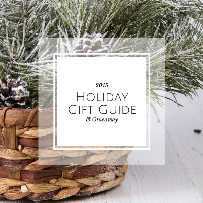 A few of My Favourite Things: Holiday Gift Guide for 2015